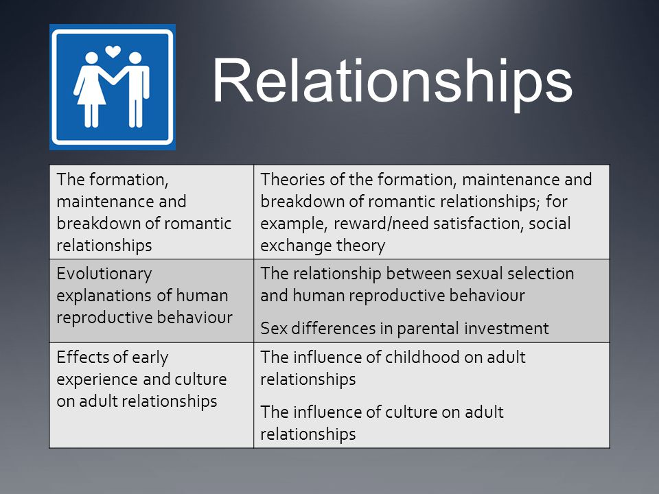 CULTURAL SIMILARITIES IN MATE PREFERENCES Buss (1989) explored what males and females looked for in a marriage partner.