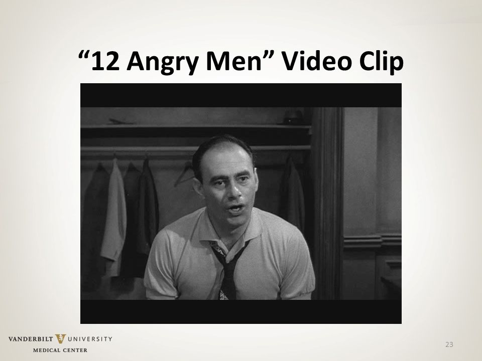 12 Angry Men Video Clip 23