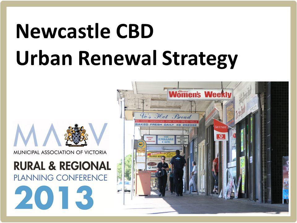 Hill PDA Newcastle CBD Urban Renewal Strategy