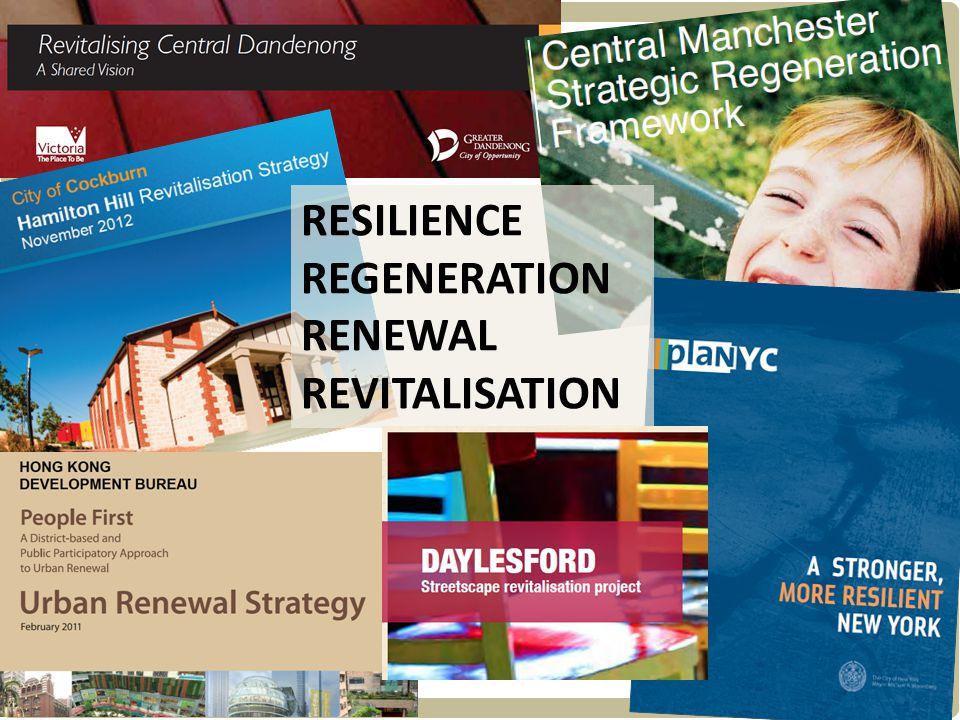 Hill PDA RESILIENCE REGENERATION RENEWAL REVITALISATION