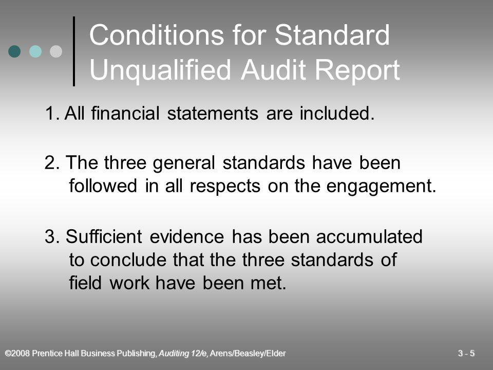 ©2008 Prentice Hall Business Publishing, Auditing 12/e, Arens/Beasley/Elder 3 - 16 Reports Involving Other Auditors 1.