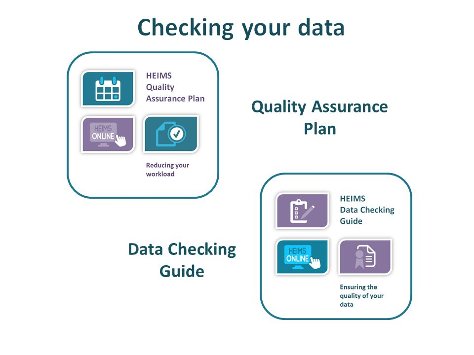 Quality Assurance Plan Data Checking Guide