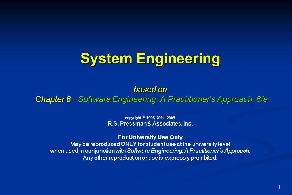 2 Waterfall model 1 [aka Royce1970] Systems Engineering Software Req.