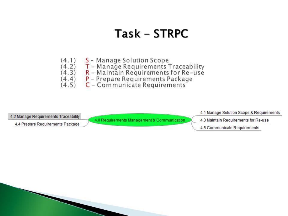 Task - STRPC