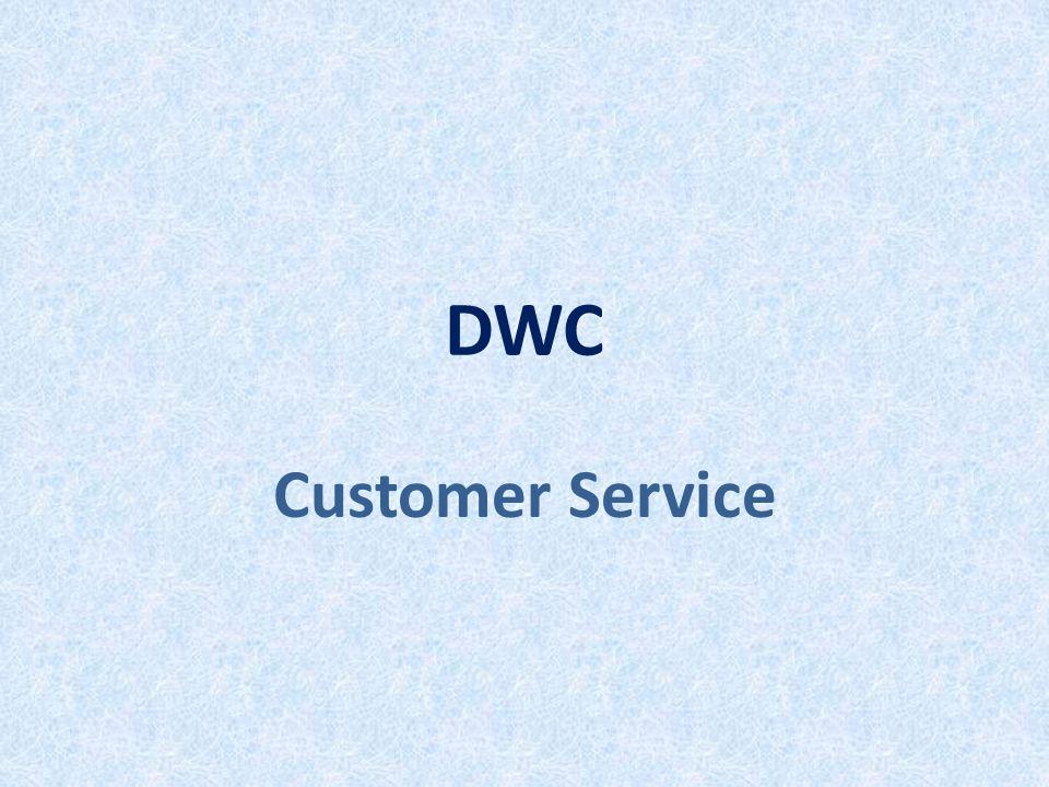 DWC Customer Service