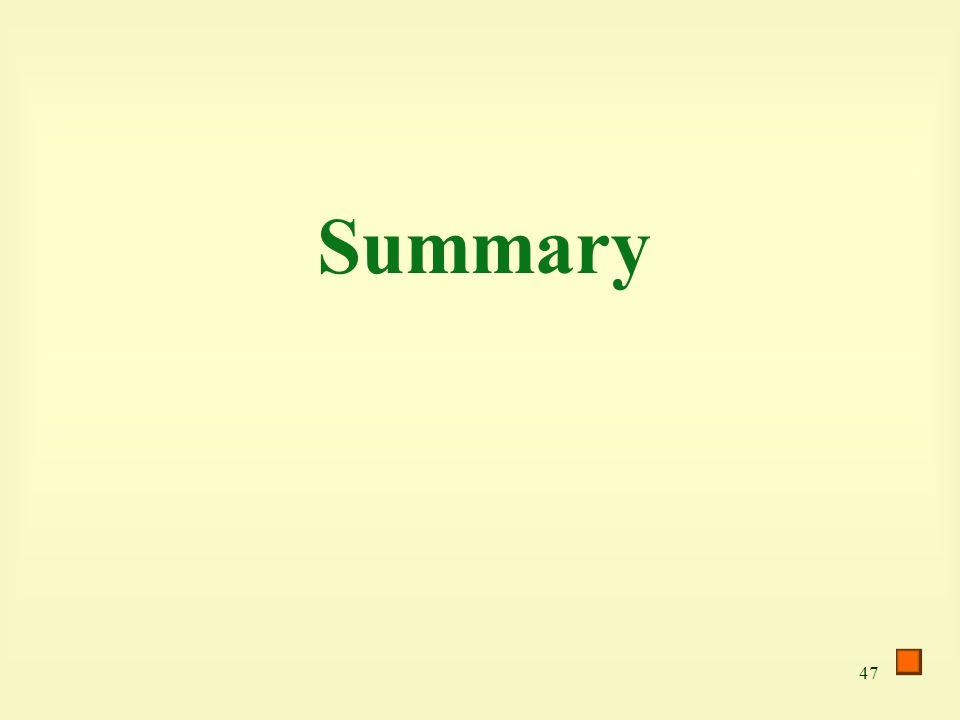 47 Summary