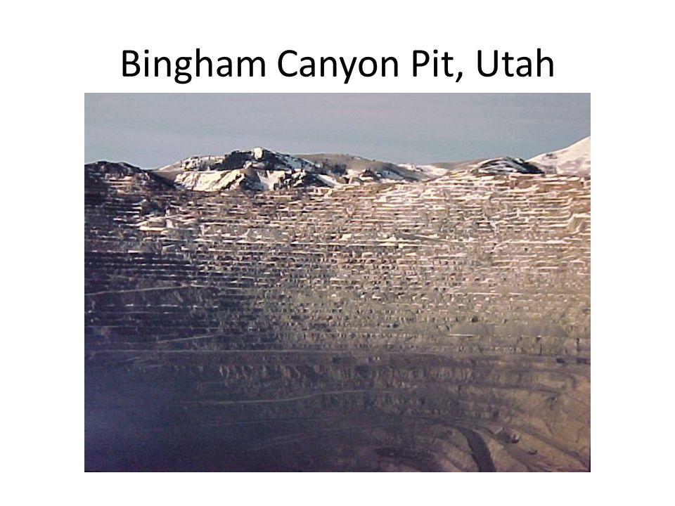 Bingham Canyon Pit, Utah