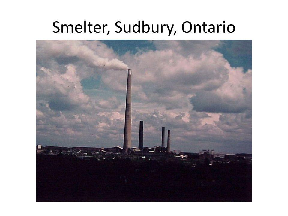 Smelter, Sudbury, Ontario