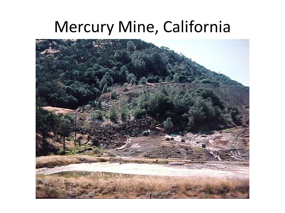 Mercury Mine, California