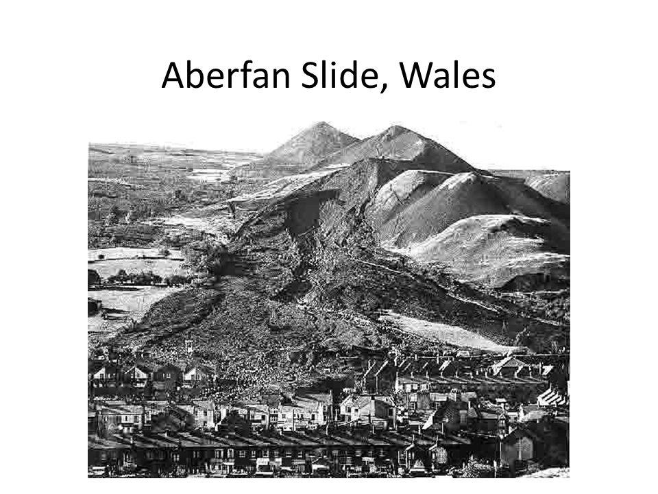 Aberfan Slide, Wales