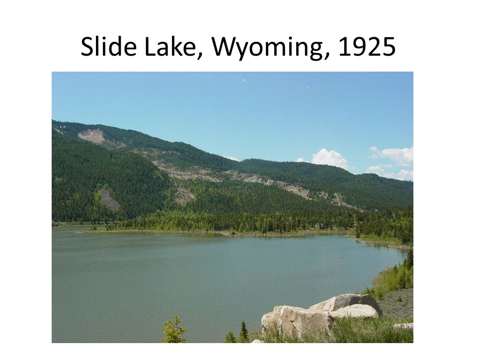 Slide Lake, Wyoming, 1925