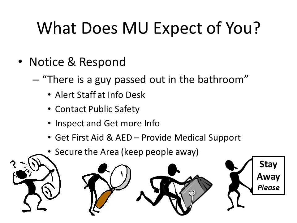 What Does MU Expect of You.
