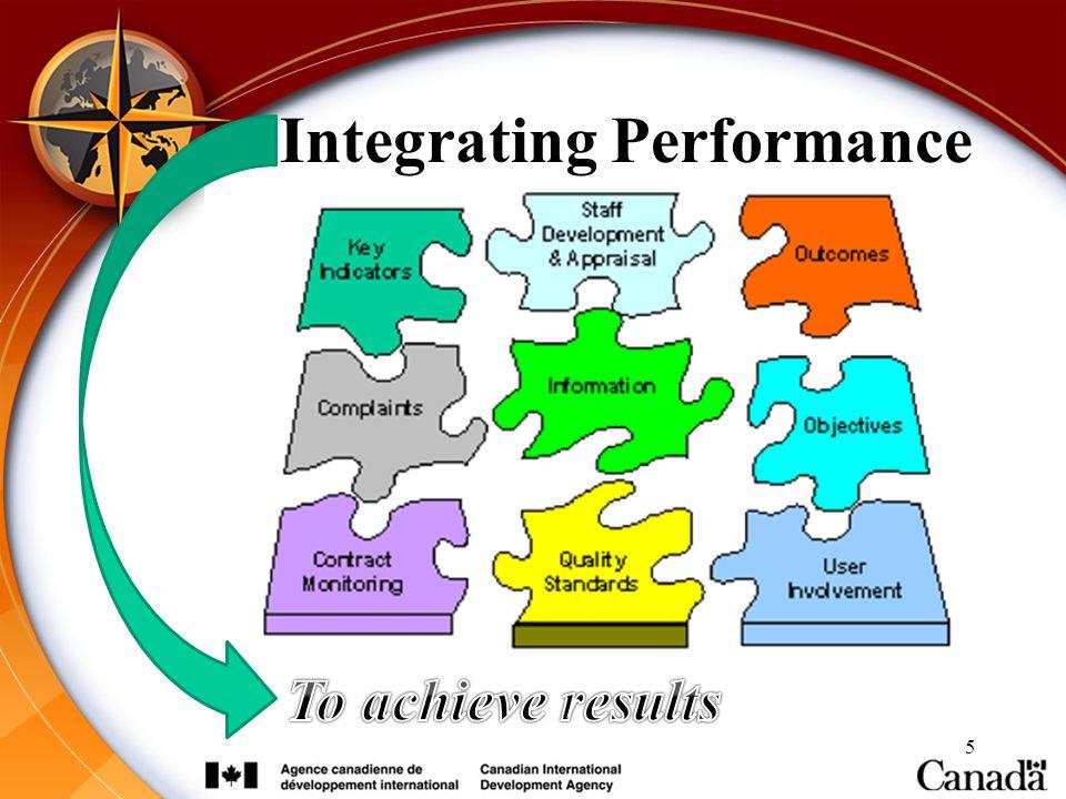 Integrating Performance 5