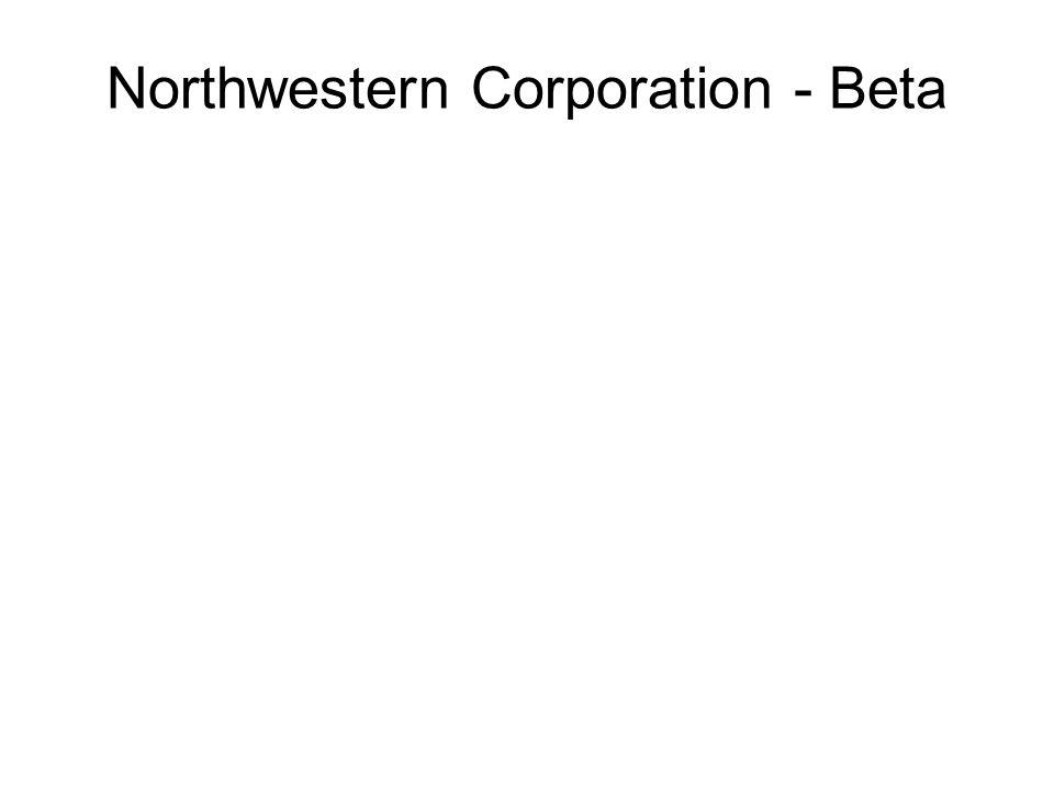 Northwestern Corporation - Beta