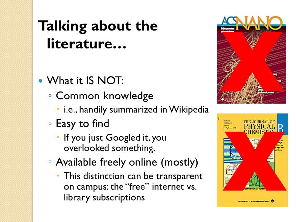 Literature review wikipedia