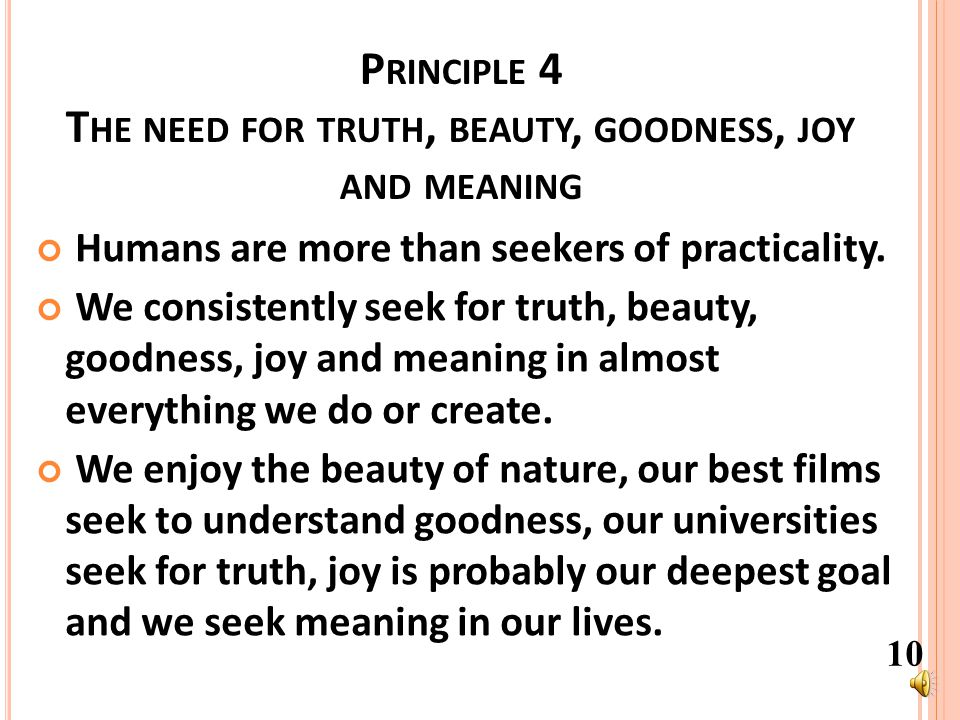 P RINCIPLE 3 T HE P RINCIPLE OF G IVE AND T AKE A CTION W ITH A COMMON VISION IN PLACE - DIVERSE INPUTS CAN THEN Diverse input Diverse Input to create