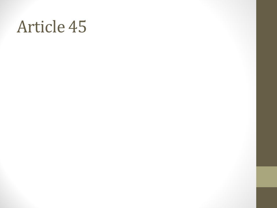 Article 45