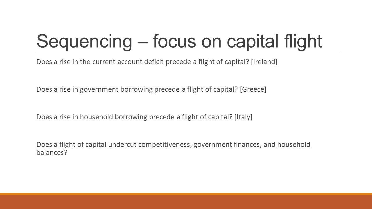 Current account and capital flight (Ireland)