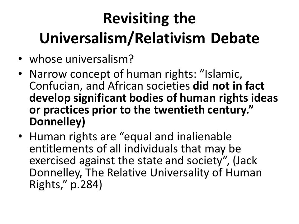 An Alternative Metaphor The early and most influential qualitative studies [on the spread of human rights] may have been mistakenly generalized from the Latin American and Eastern European experience , and thus research based on these frameworks on Africa, Asia, or the Middle East may be barking up the wrong theoretical tree. Emily Haftner Burton and James Ron So what is the right theoretical tree?