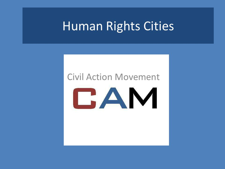 Human Rights Cities Civil Action Movement