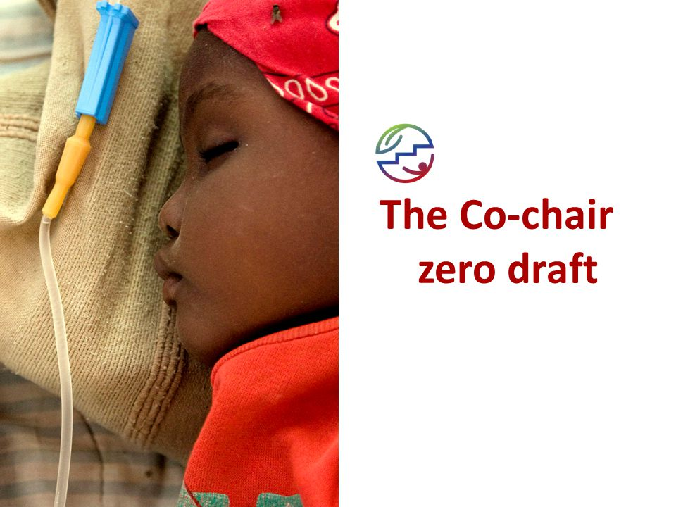 The Co-chair zero draft