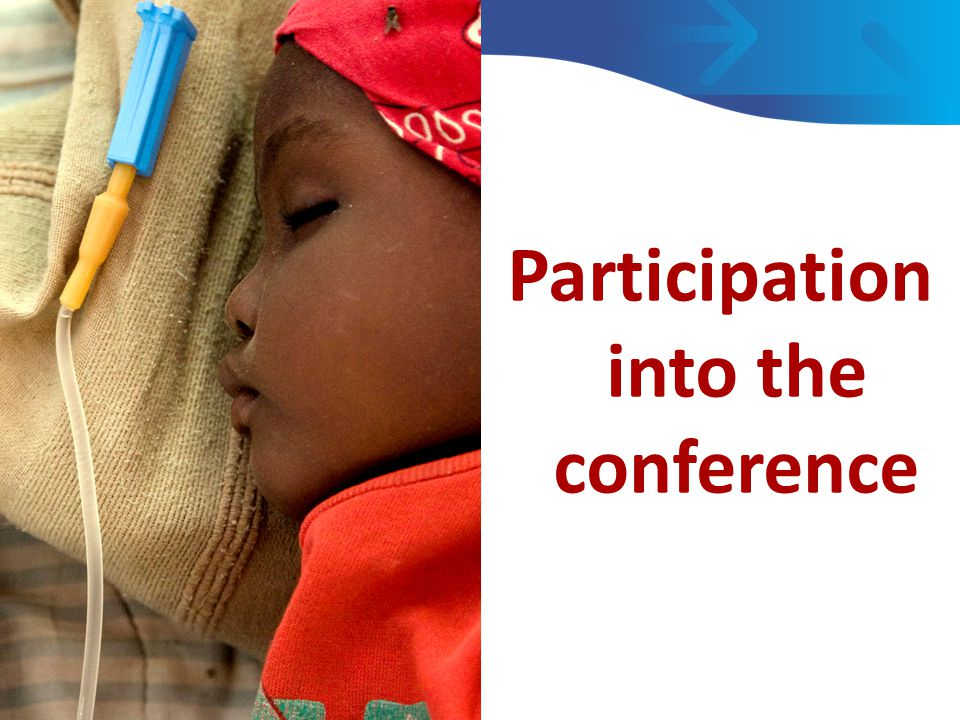Participation into the conference