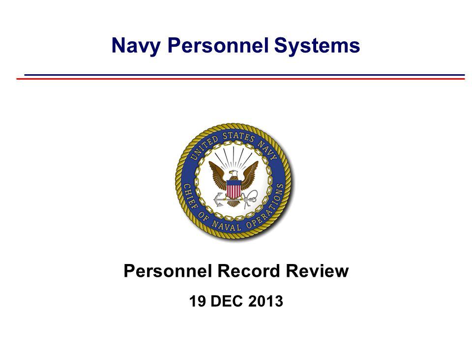 Summary  Your Navy service record is maintained in two systems: - OMPF contains official personnel documents - ESR contains personnel data  You should review OMPF and ESR routinely and take necessary action to update missing or inaccurate information.