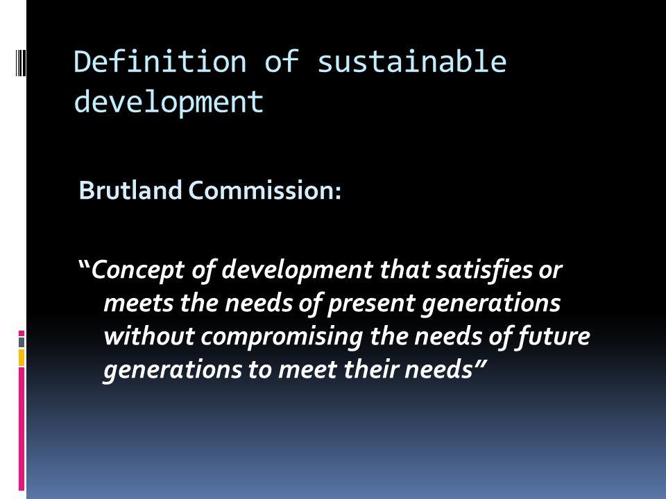 3 pillars of sustainable development So Ec En