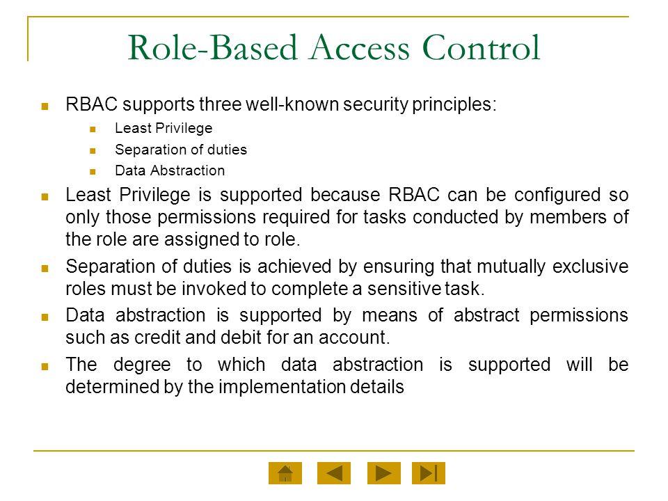 Core RBAC Definition 1.Core RBAC.