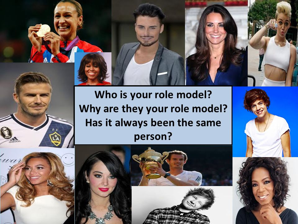 Who is your role model? Why are they your role model? Has it always been the same person?