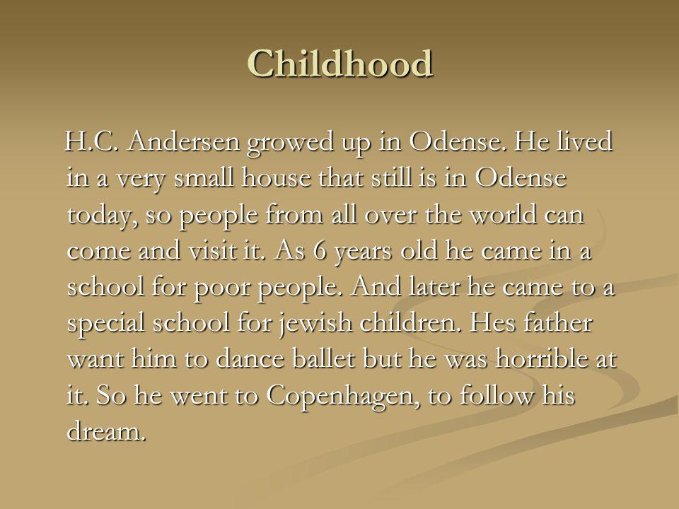 Family Father: Hans Andersen (1782-1816) Father: Hans Andersen (1782-1816) H.C.