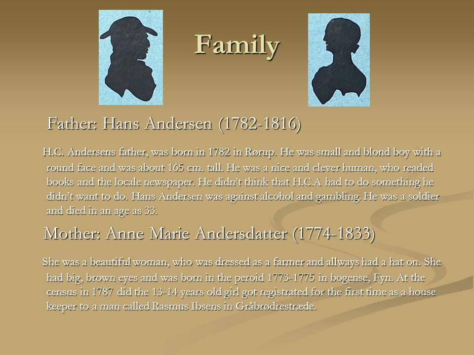 Copenhagen The 4th September 1819 traveled Hans Christian Andersen to Copenhagen.