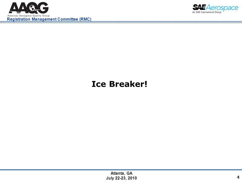 Registration Management Committee (RMC) Atlanta, GA July 22-23, 2010 25 Risk Management Tools