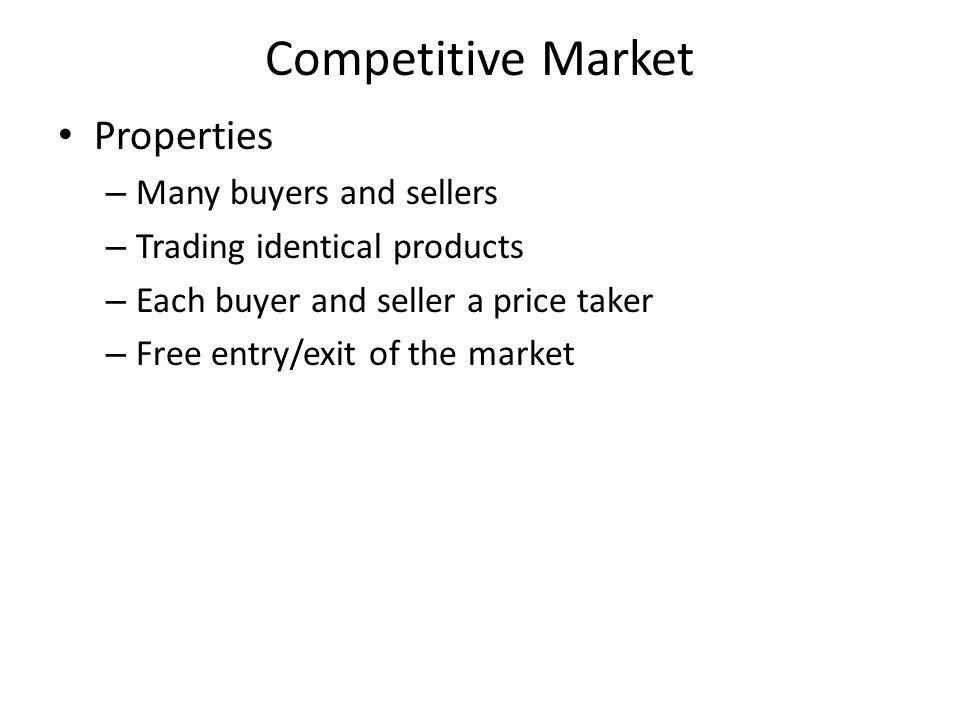Profit If P > ATC – Positive profits – ∏ = TR – TC = (P – ATC) x Q If P < ATC – Negative profits (losses) – Loss = TC – TR = (ATC – P) x Q