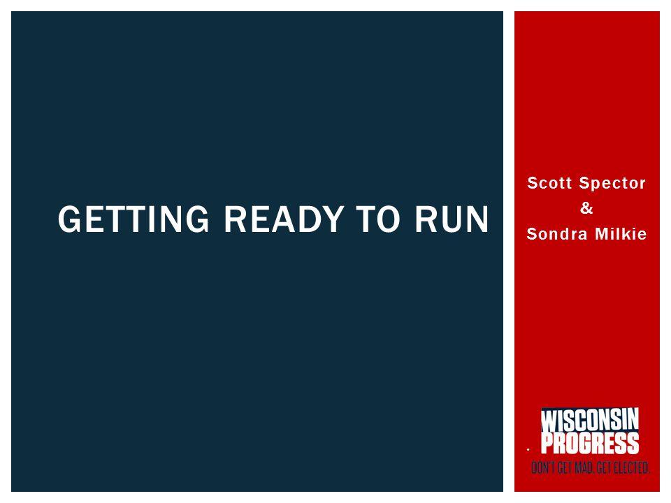 Scott Spector & Sondra Milkie GETTING READY TO RUN