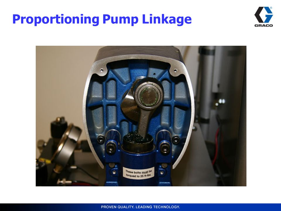 Proportioning Pump Linkage