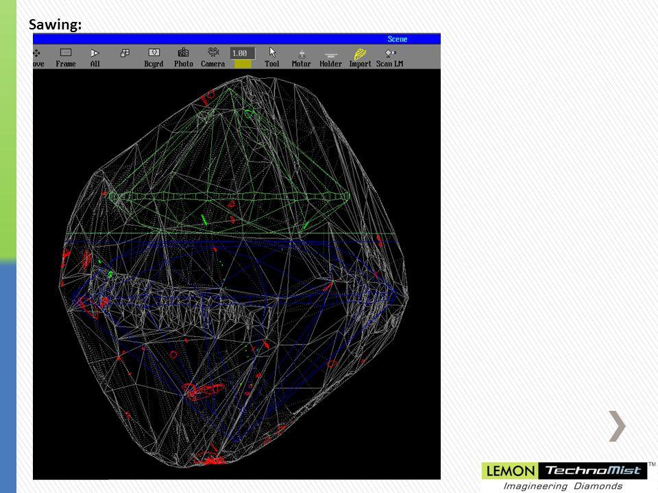 Blocking Judge II Images: Blocking DIB Images: Polished Judge II Images: IS Capture Images: Polished DIB Images: After Sawing Color Estimation File:10.09 Cts.