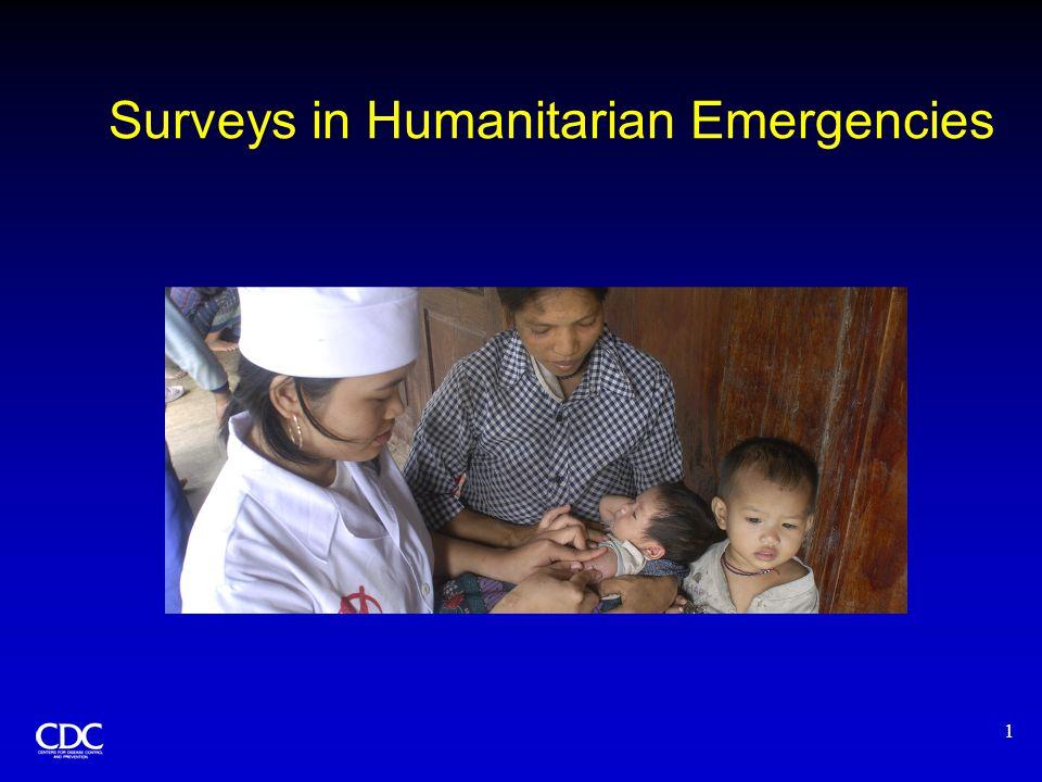 12 Sampling Frame for the Darfur Survey