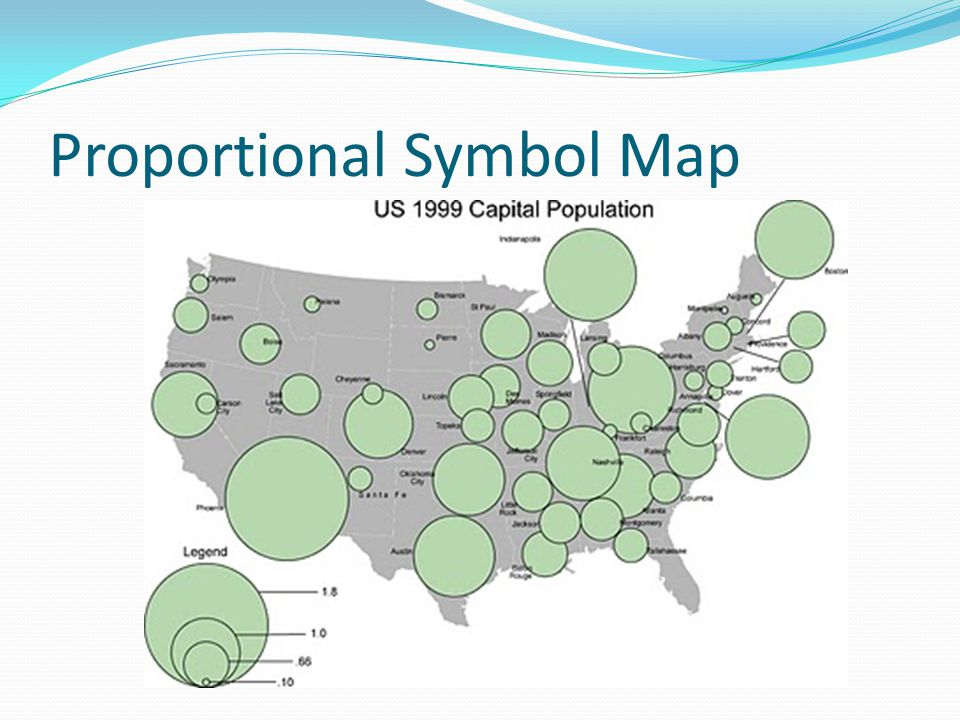 Proportional Symbol Map
