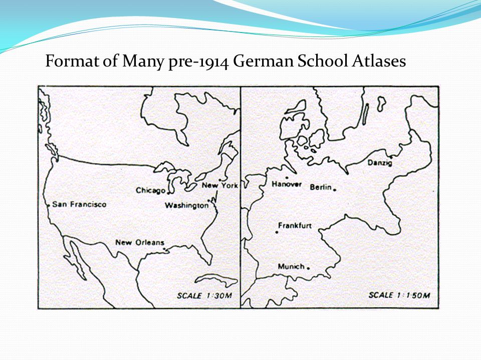 Format of Many pre-1914 German School Atlases