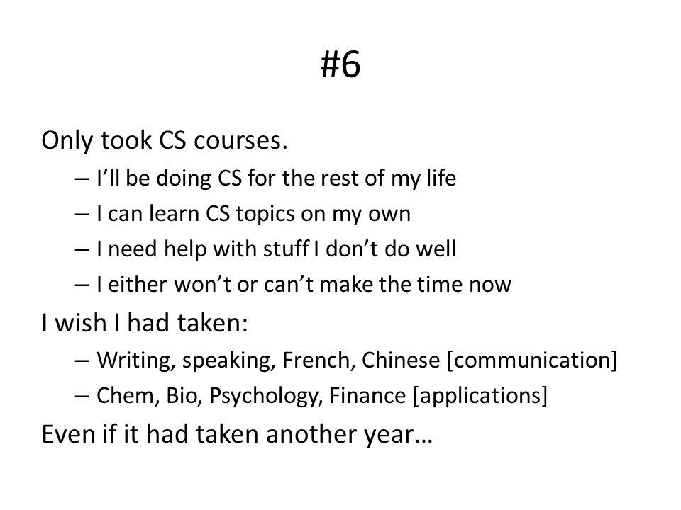 #5 Never took a teaching seminar – It's half my job for God's sake.
