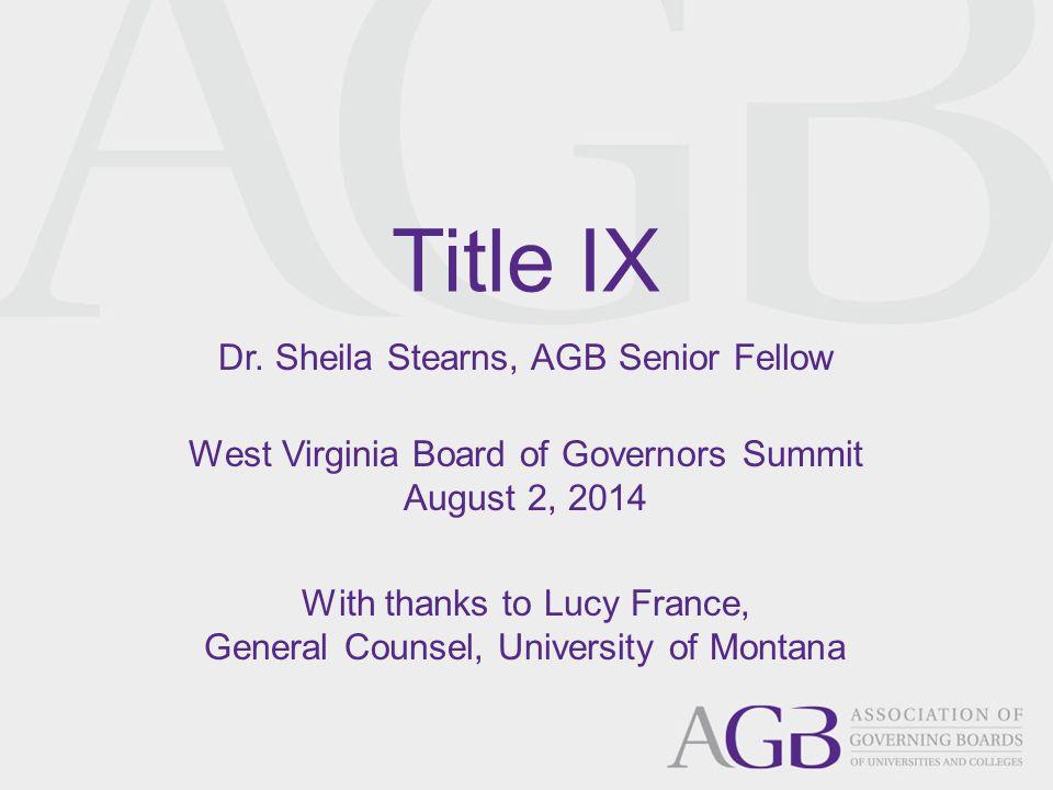 Title IX Dr.