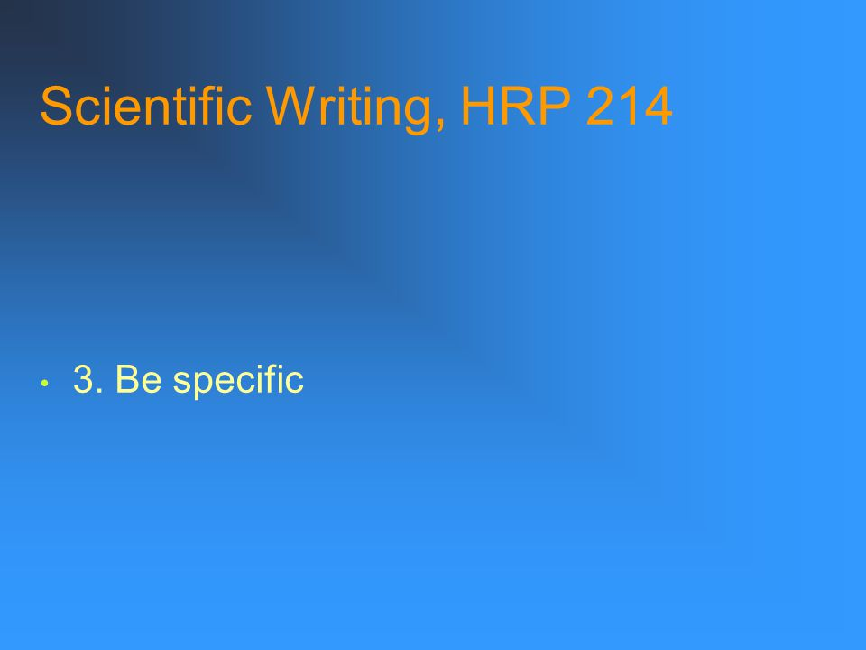"""Scientific Writing, HRP 214 Example: """"Brain injury incidence shows two peak periods in almost all reports: rates are the highest in young people and t"""
