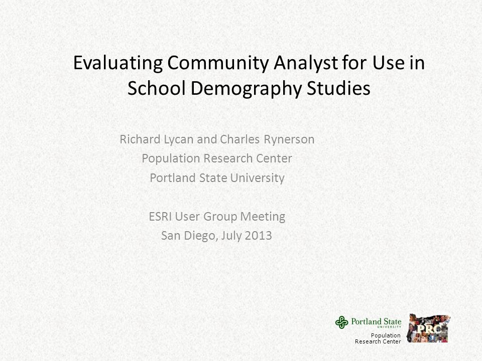 Conclusions regarding exploration Benefits of using Community Analyst for exploring a school district – Provides easy access to a wide range of relevant data from the Decennial Census and the American Community Survey.
