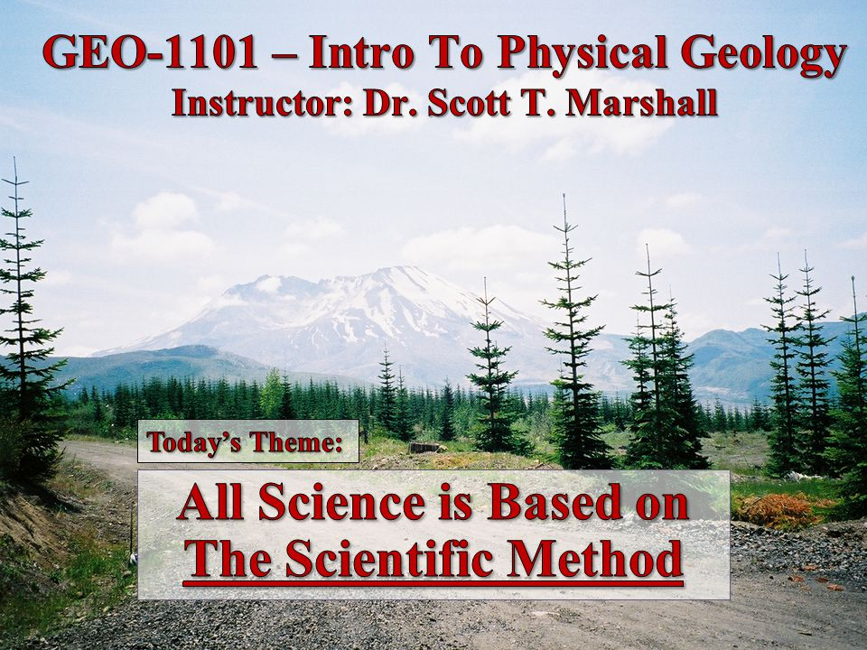 The Scientific Method Science is not subjective Results are statements based on observations Results must be reproducible and thoroughly tested Scientific discovery is the results of human efforts… people just like you.