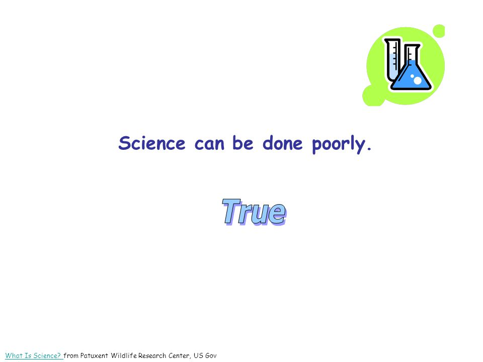_______________ When Non-science Claims to Be Science Claims that can be tested scientifically, but are not.