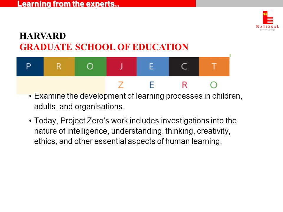 Examine the development of learning processes in children, adults, and organisations.