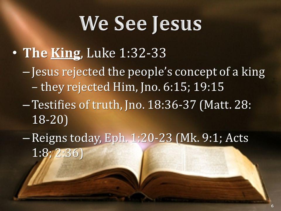 The Judge, Jno.5:22-23, 27 The Judge, Jno.