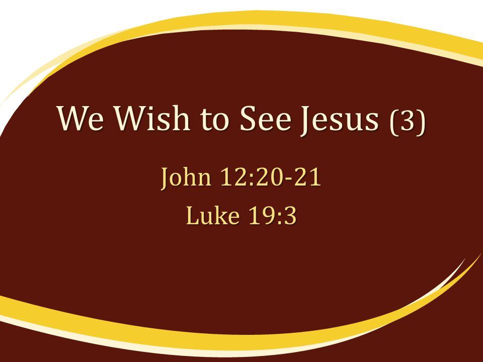 We See Jesus in His Work In the beginning, Jno.1:1-3 In prophecy, Lk.