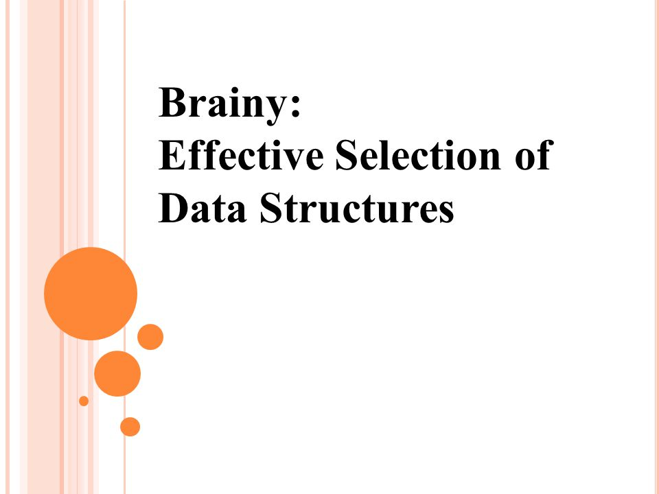Brainy: Effective Selection of Data Structures